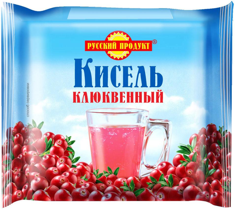 Кисель Русский продукт Клюквенный 220г