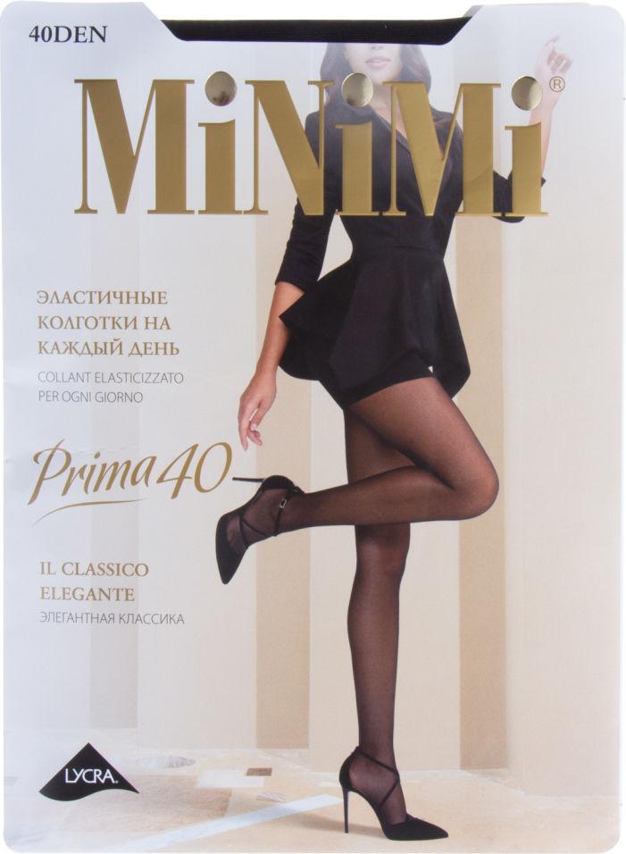 Колготки Minimi Prima 40 Nero Черные Размер 4