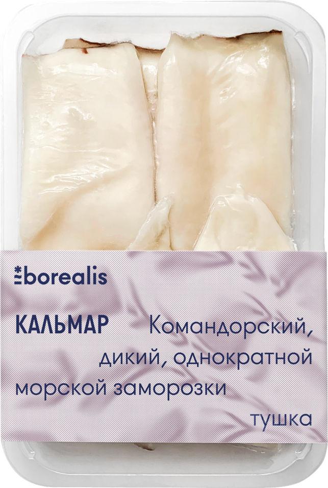 Кальмар Borealis тушка без кожи 500г