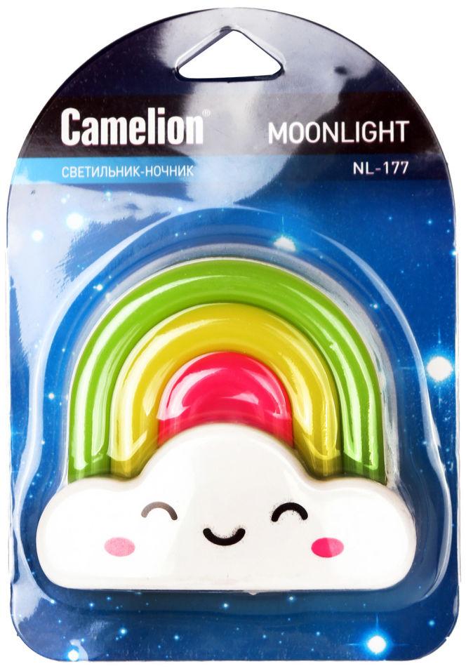 Ночник Camelion NL-177 Радуга LED 220В с выключателем