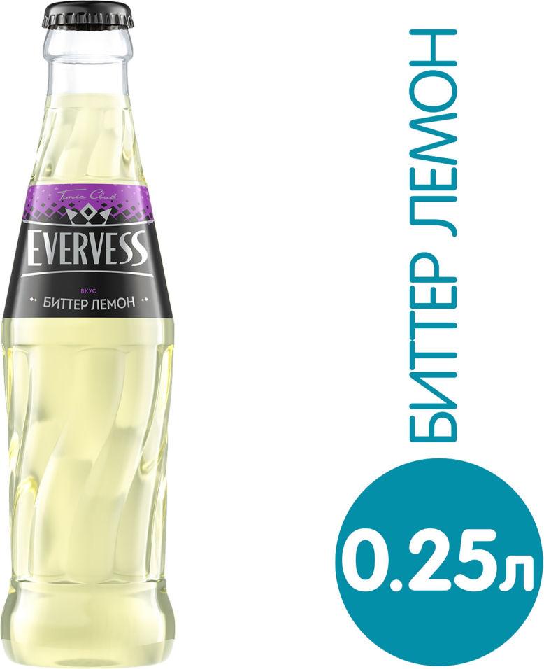 Напиток Evervess Тоник Лимонный вкус 250мл