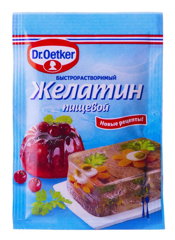 Желатин Dr.Oetker пищевой быстрорастворимый 10г