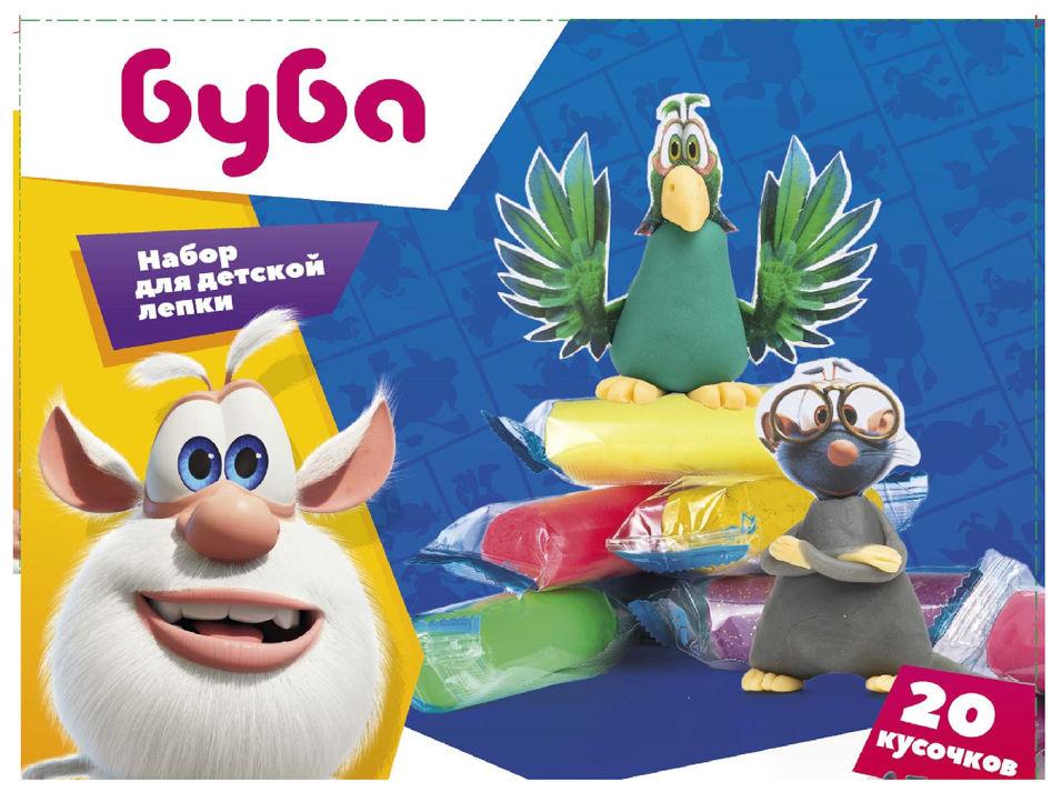 Набор для лепки Genio Kids Лепим с Бубой детский