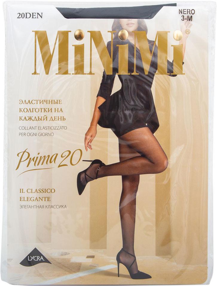 Колготки Minimi Prima 20 Nero Черные Размер 3