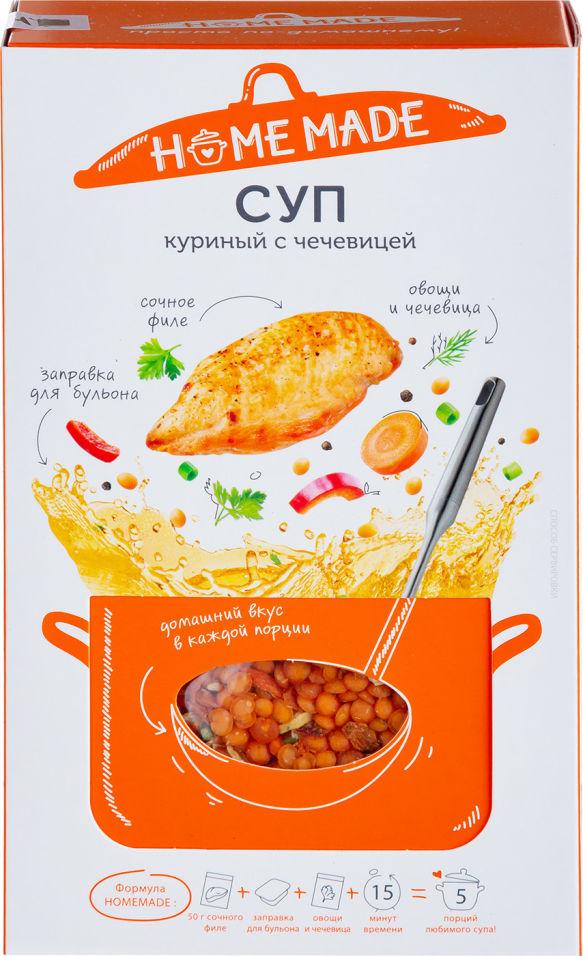 Набор для супа Home Made Куриный с чечевицей 145г