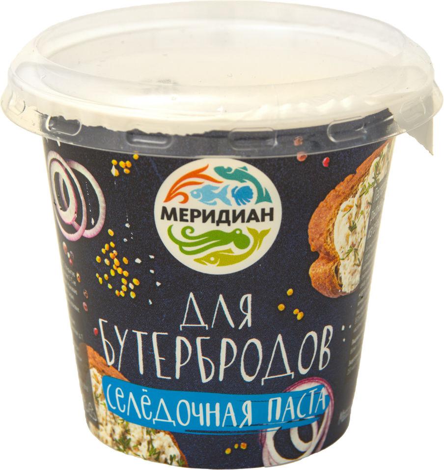 Паста селедочная Меридиан для бутербродов 140г
