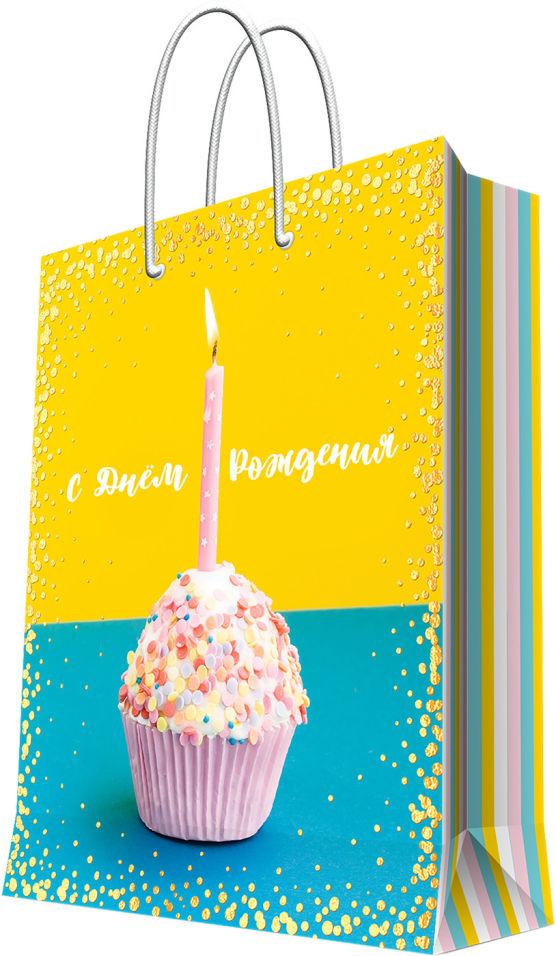 Пакет подарочный Magic Pack Панкейк 17.8*22.9*9.8см