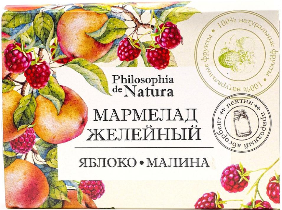 Мармелад Philosophia de Natura Яблоко и малина 200г