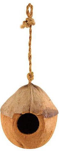 Домик для птиц Triol из кокоса, 10-13см