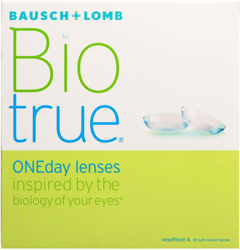 Контактные линзы Biotrue ONEday Однодневные -1.50/14.2/8.6 90шт