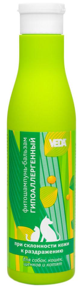 Фитошампунь-бальзам для собак и кошек Veda Гипоаллергенный 250мл