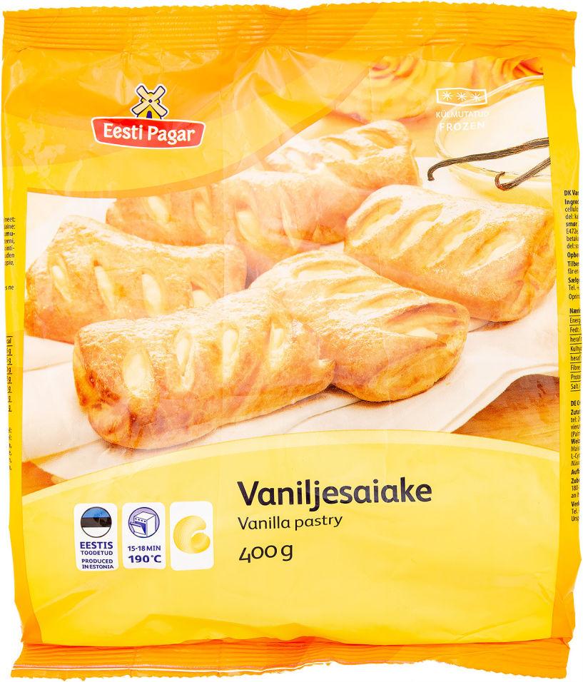 Булочка Eesti Pagar сладкая с ванильным кремом 400г