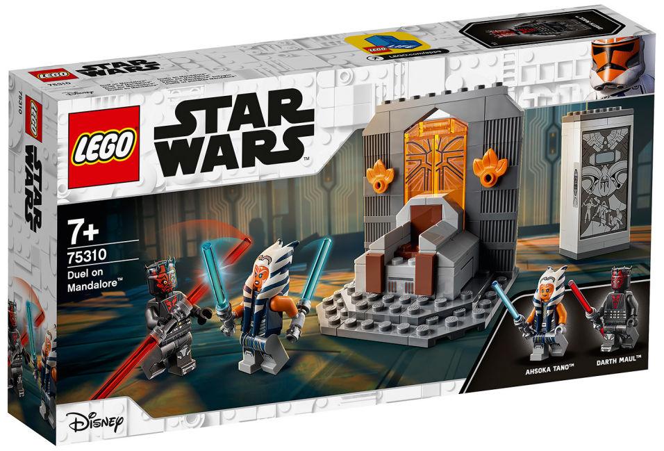 Конструктор LEGO Star Wars 75310 Дуэль на Мандалоре