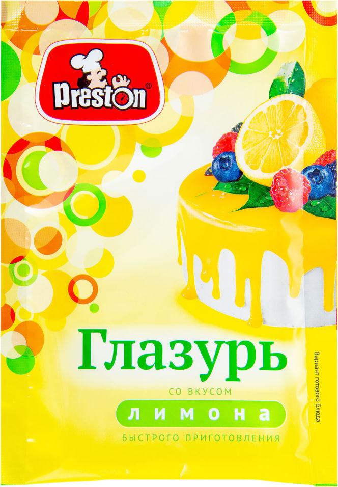 Глазурь Preston Со вкусом лимона 50г
