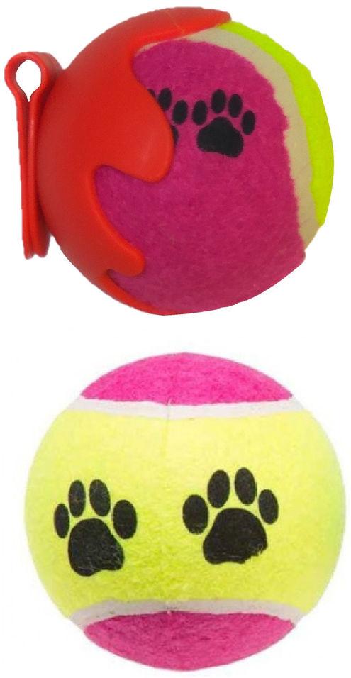 Игрушка для собаки Lilli Pet Tennis Balls Set With 2 Balls 6.5см