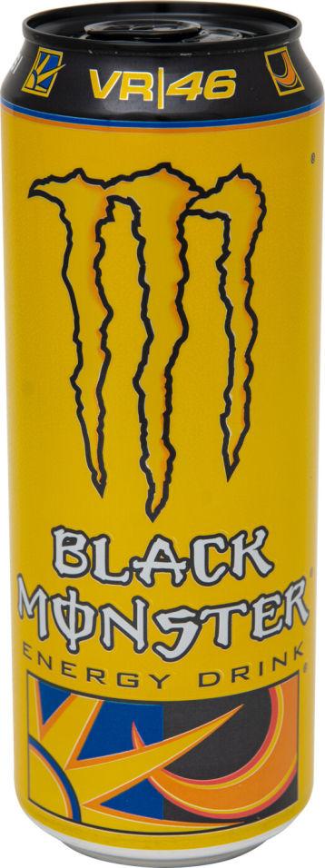 Напиток энергетический Black Monster The Doctor 449мл