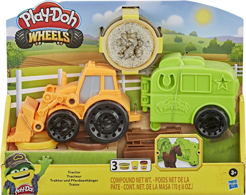 Набор игровой Play-Doh Масса для лепки Фермерский трактор