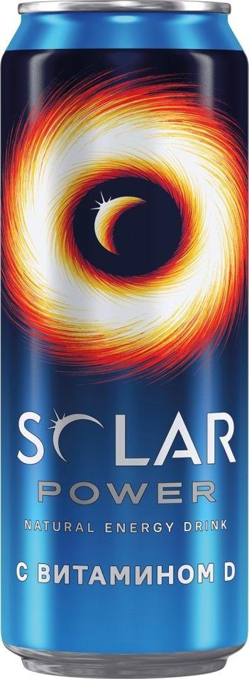 Напиток Solar Power энергетический 450мл