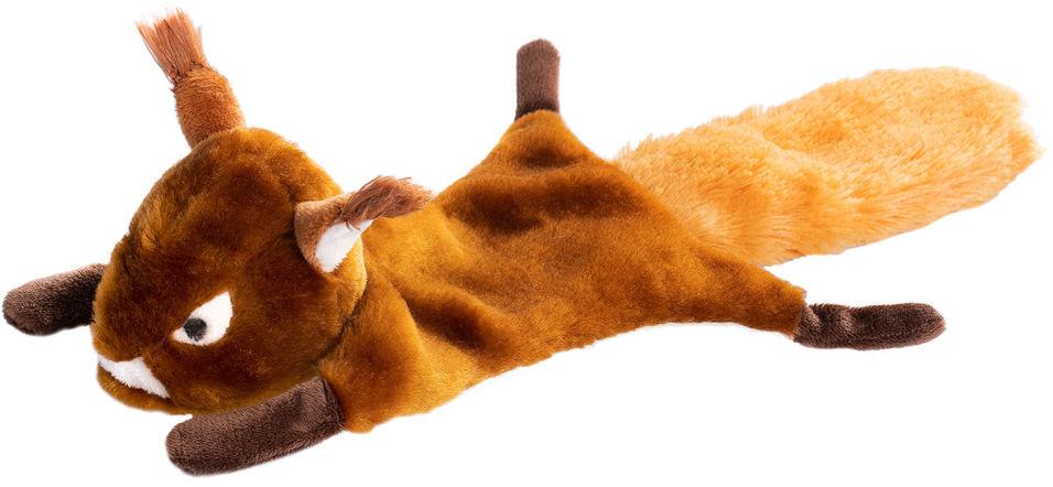 Игрушка для животных Fancy Pets Белка с шуршалкой и пищалкой 38см
