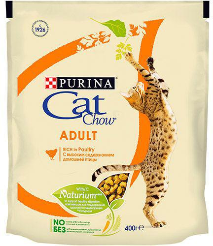 Сухой корм для кошек Cat Chow Курица 400г