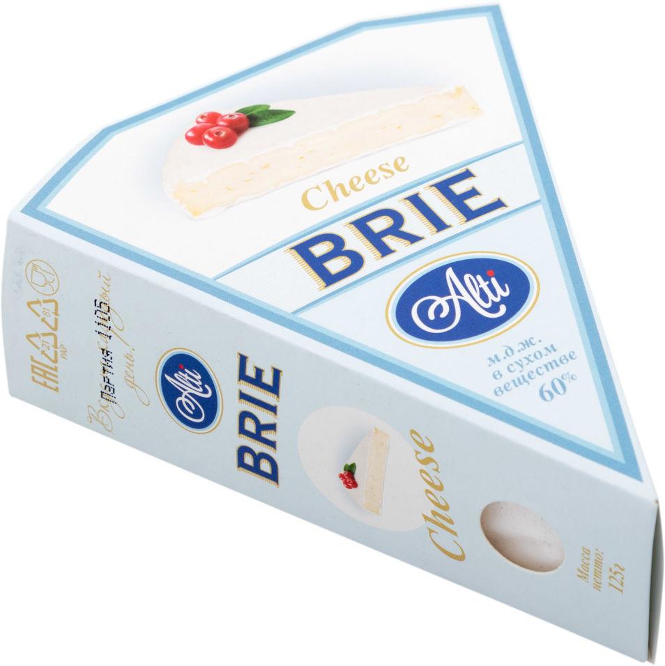Отзывы о Сыре Alti Бри с белой плесенью 60% 125г