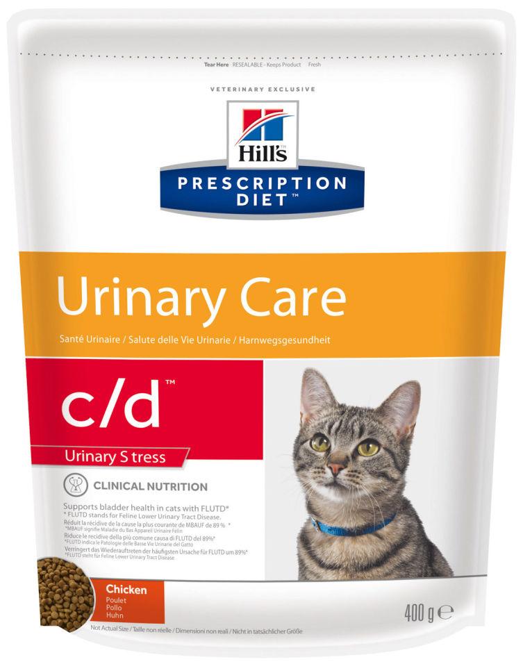Сухой корм для кошек Hills Prescription Diet Urinary Stress при лечении и профилактики МКБ с курицей 400г
