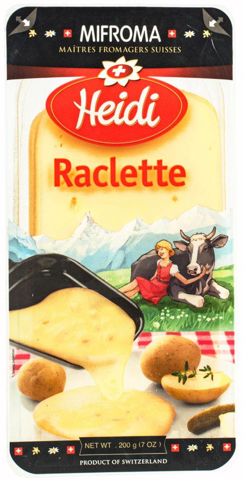 Отзывы о Сыре Heidi Раклет 50% 200г