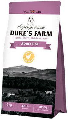 Сухой корм для кошек Dukes Farm Курица 2кг