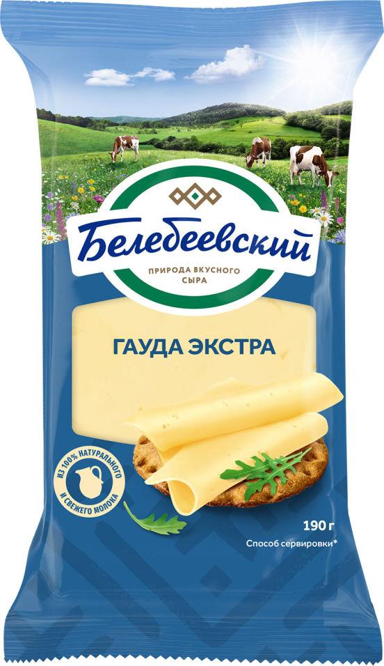 Отзывы о Сыре Белебеевском Гауда Экстра 45% 190г