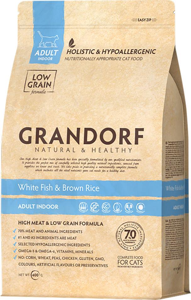 Отзывы о Сухом корме для кошек Grandorf Adult Рыба с рисом 400г