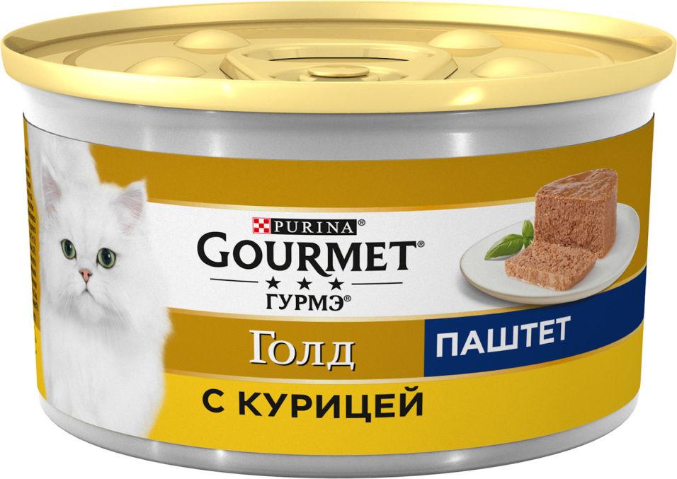 Корм для кошек Gourmet Gold Паштет с курицей 85г