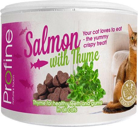 Отзывы о Лакомстве для кошек Profine Хрустящее печенье с лососем и тимьяном 50г