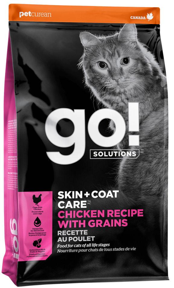 Сухой корм для кошек Go! с курицей фруктами и овощами 7.26кг