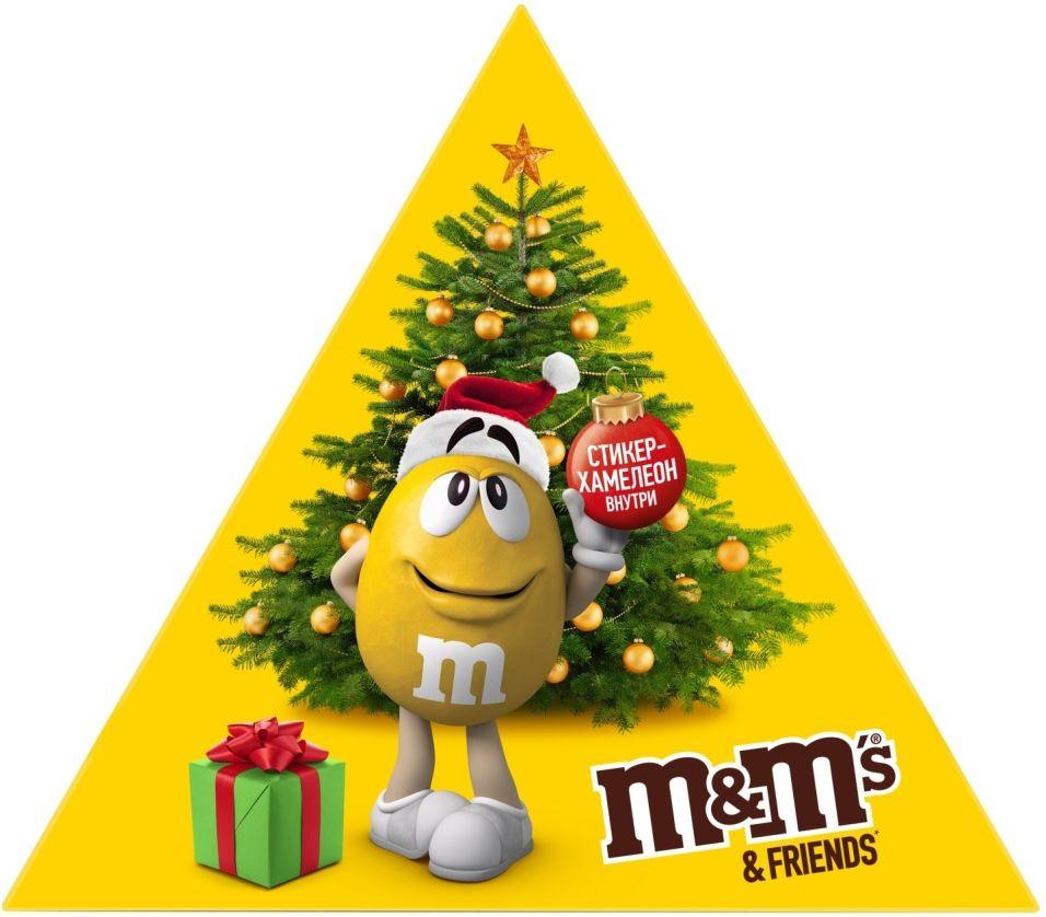 Отзывы о Подарочном наборе M&M's Friends 162г