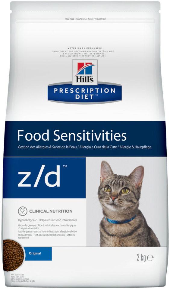 Отзывы о Сухом корме для кошек Hills Prescription Diet z/d при пищевой аллергии 2кг