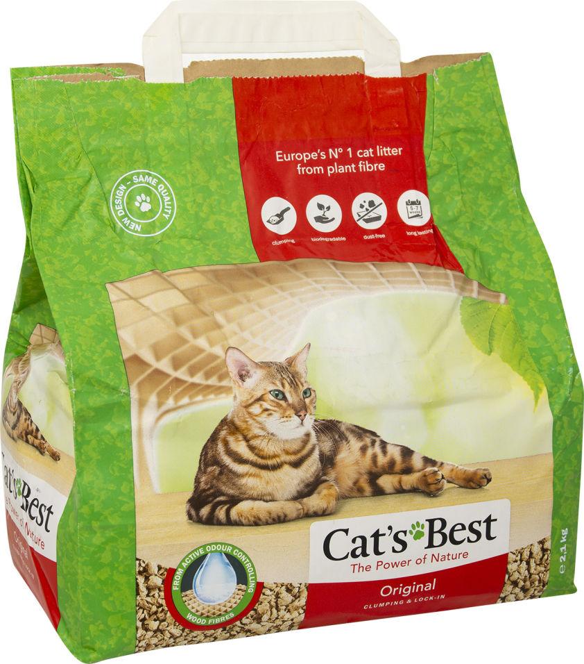 Отзывы о Наполнителе для кошачьего туалета Cats Best Original 5л