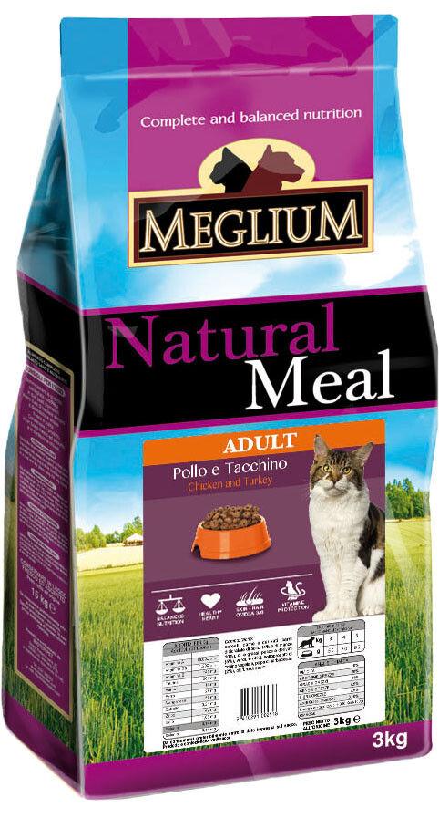 Отзывы о Сухом корме для привередливых кошек Meglium Adult Курица и Индейка 3кг