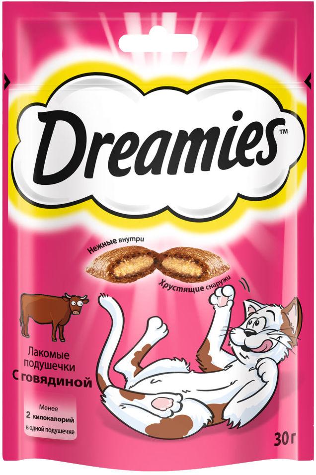 Отзывы о Лакомстве для кошек Dreamies с говядиной 30г