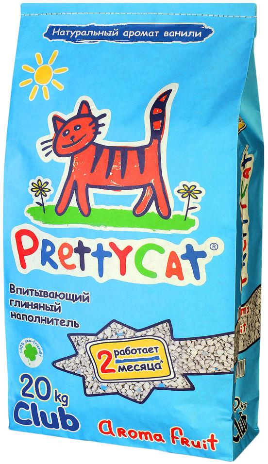 Наполнитель для кошачьего туалета PrettyCat Aroma Fruit впитывающий с део-кристаллами 20кг