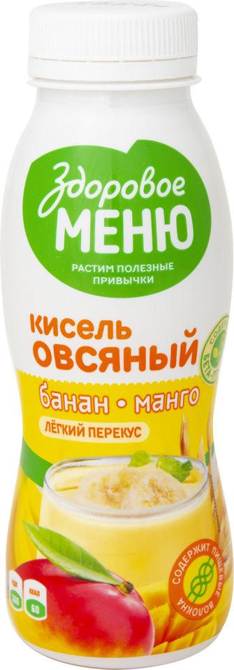 Отзывы о Киселе овсяном Здоровое Меню с бананом и манго 250мл