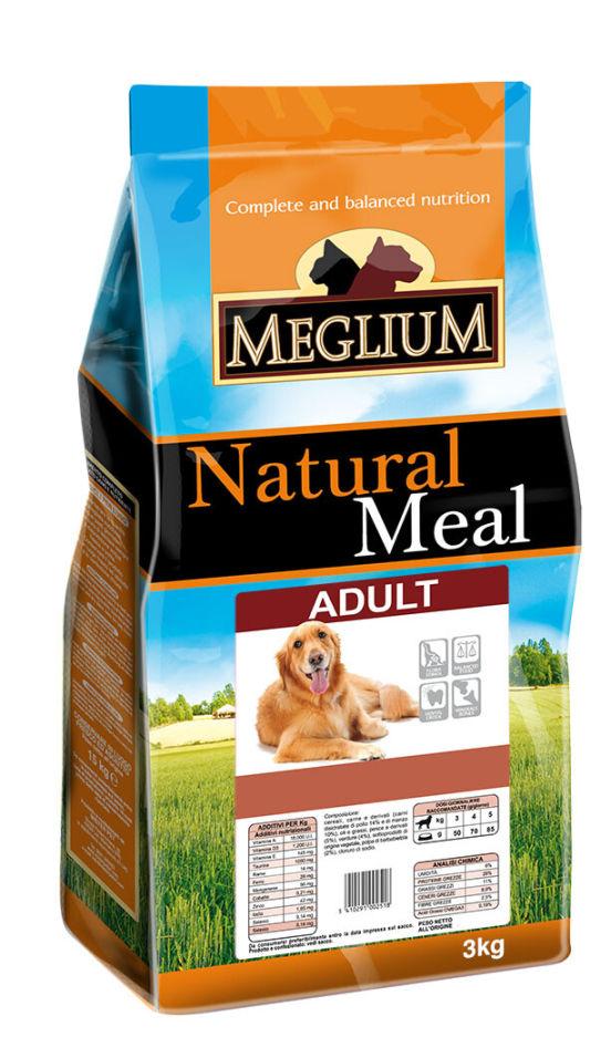 Сухой корм для собак Meglium Adult 3кг