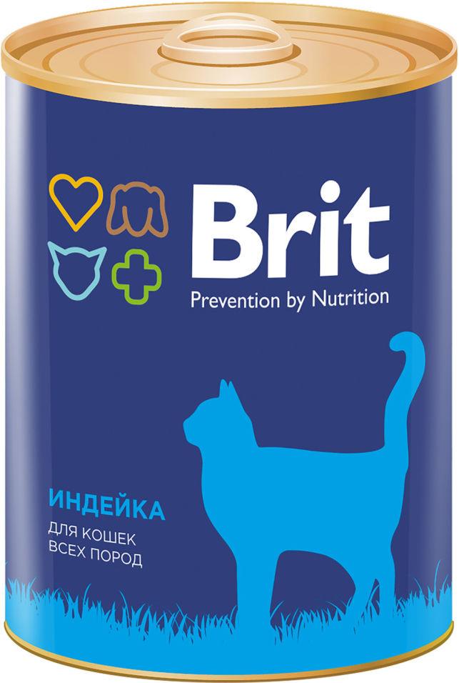 Отзывы о Корме для кошек Brit Индейка 340г