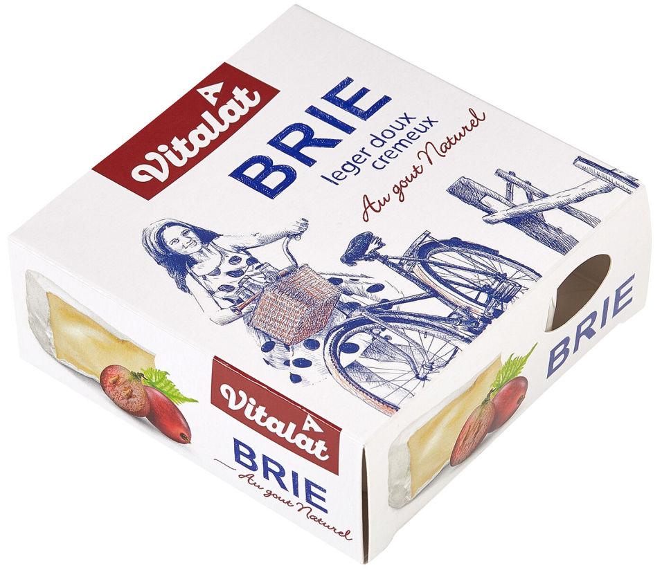 Отзывы о Сыре Vitalat Бри мягкий с белой плесенью 60% 125г