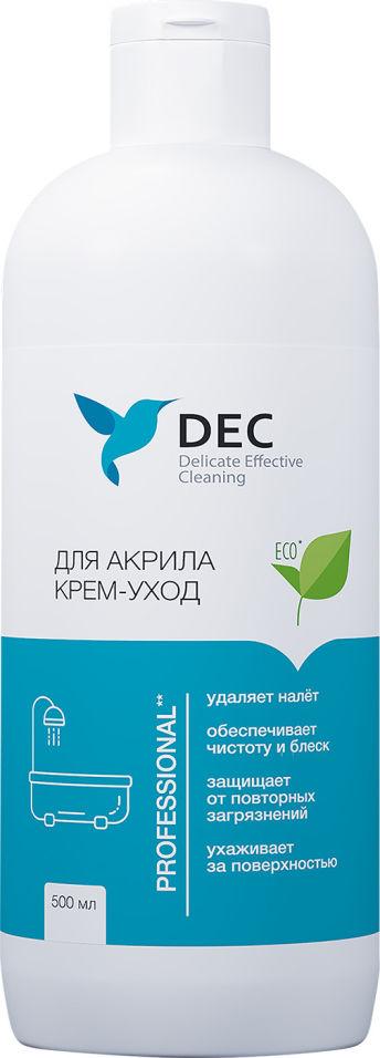 Чистящее средство DEC для акриловых поверхностей 0.5л