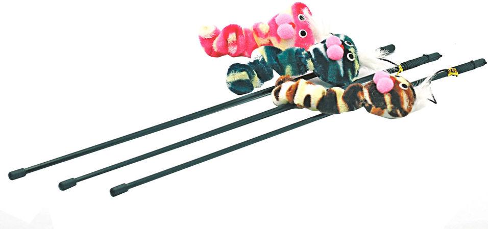 Игрушка для кошек Lilli Pet Удочка Mr Smith 46см в ассортименте