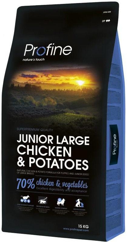 Сухой корм для щенков Profine Junior Large Курица 15кг