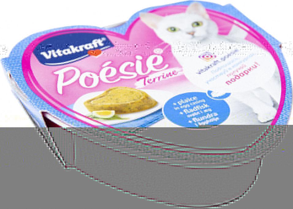 Корм для кошек Vitakraft камбала в яйце 85г