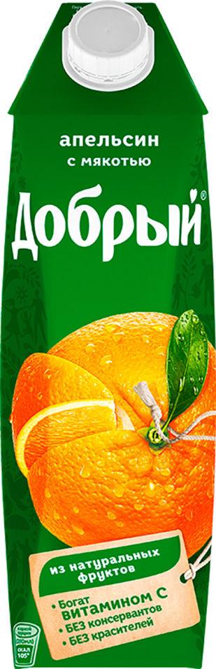 Нектар Добрый Апельсин с мякотью 1л