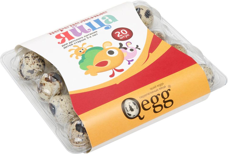 Отзывы о Яйца Qegg перепелиные столовые для детского питания 20шт