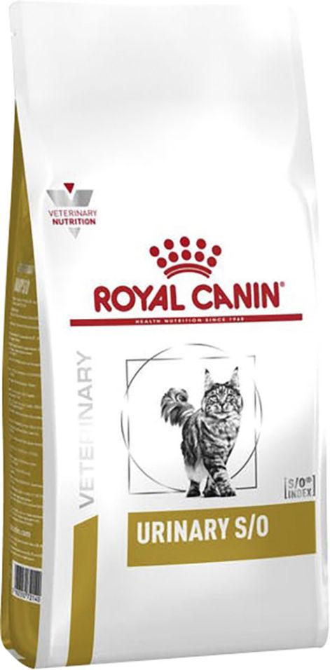 Сухой корм для кошек Royal Canin Veterinary Diet Urinary S/O 1.5кг